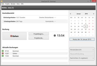 Lückenlose Arbeitszeitnachweise | Wensauer Com-Systeme GmbH
