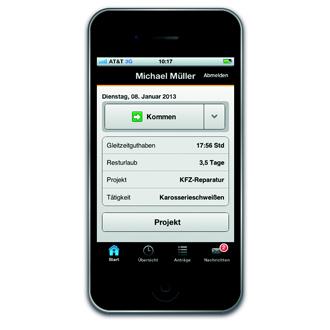 timeCard App | Wensauer Com-Systeme GmbH