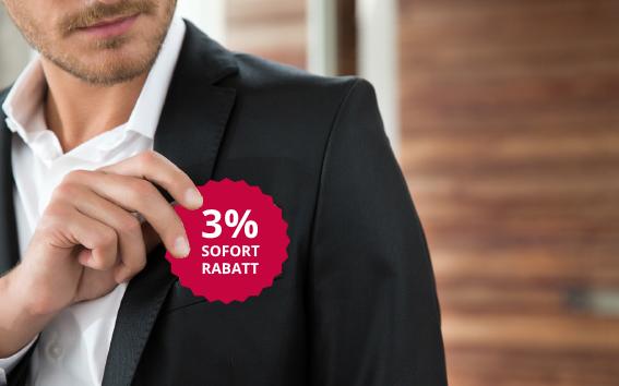 3% Sofort-Rabatt mit der Wensauer Card | Wensauer Com-Systeme GmbH