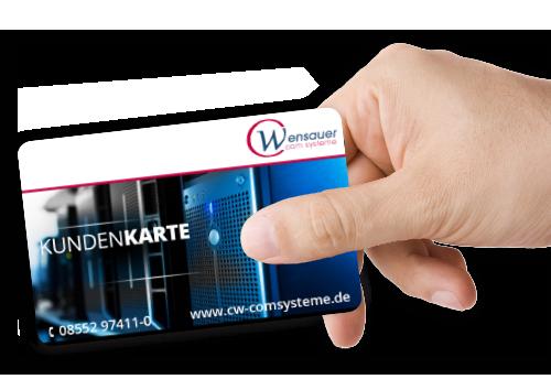 Unsere Kundenkarte Wensauer Card | Wensauer Com-Systeme GmbH