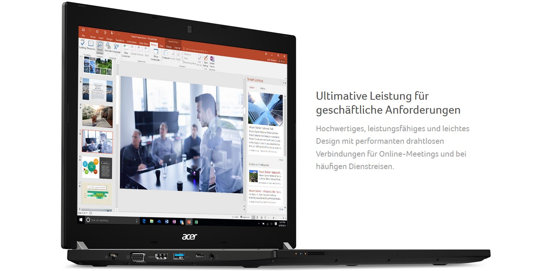 Acer TravelMate P6 Business-Notebook   Wensauer Com-Systeme GmbH