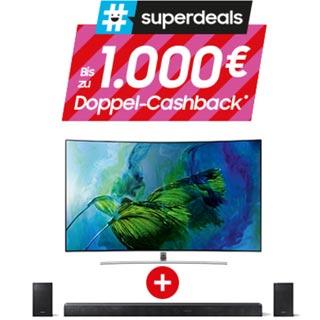 Samsung QLED-TV Superdeals | Wensauer Com-Systeme GmbH