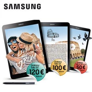 Für mehr in der Reisekasse | Jetzt Aktionsgerät kaufen und bis zu 120€ sparen.