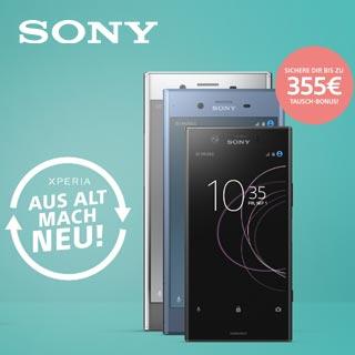 Sony Xperia Aus Alt mach Neu-Aktion | Wensauer Com-Systeme GmbH