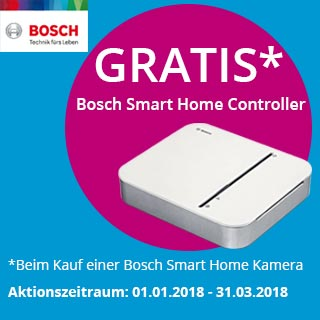 Bosch Smart Home Coupon-Kampagne
