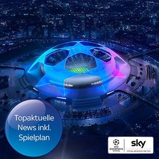 Die neue UEFA Champions League Saison bei Sky | Wensauer Com-Systeme GmbH