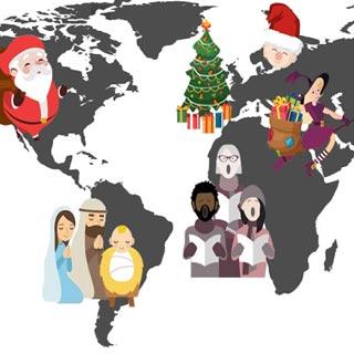 Weihnachten weltweit | Wensauer Com-Systeme GmbH