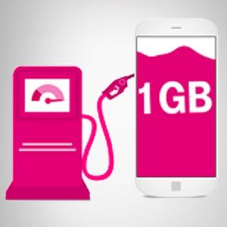 Telekom Daten Tanke - 1 GB Datenvolumen gratis im Shop tanken