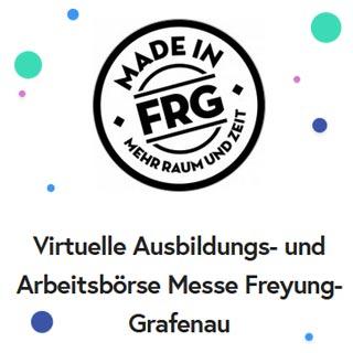 Virtuelle Ausbildungsbörse FRG | Wensauer Com-Systeme GmbH