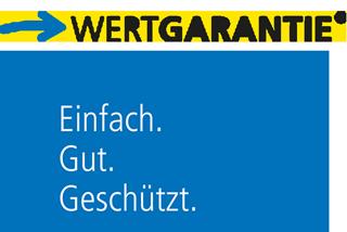 WERTGARANTIE | Perfekter Schutz für alles, was Akku, Stecker oder Speichen hat.