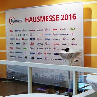 Erfolgreiche Hausmesse 2016 | Wensauer Com-Systeme GmbH