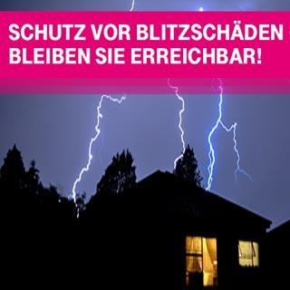 Schäden durch Blitzschlag: jetzt vorbeugen!