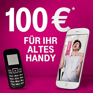 100€ für Ihr altes Handy | Wensauer Com-Systeme GmbH