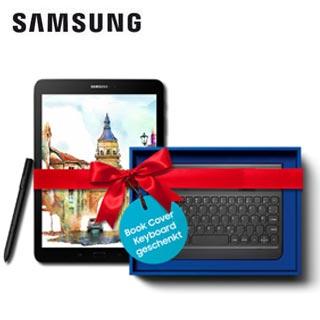 Jetzt Galaxy Tab S3 oder Tab S2 9.7 kaufen und ein Book Cover Keyboard geschenkt bekommen. | Wensauer Com-Systeme GmbH