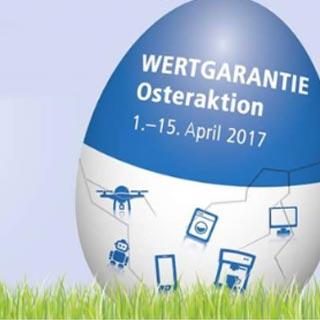 Wertgarantie Aktion zu Ostern   Wensauer Com-Systeme GmbH