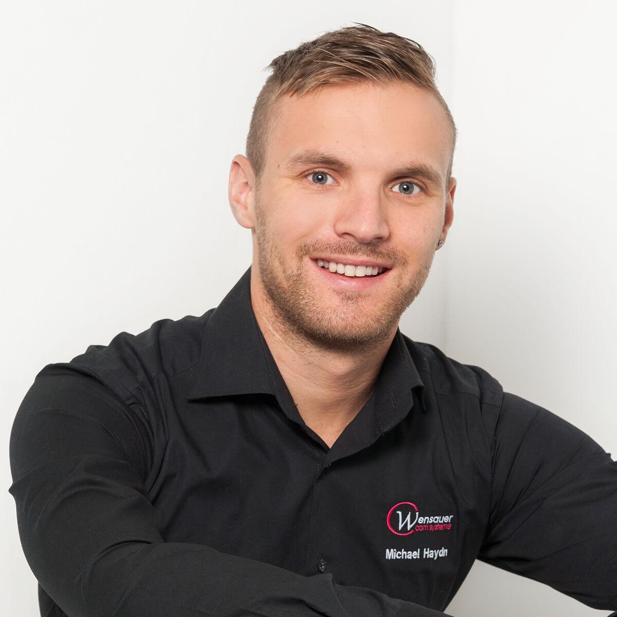 Michael Haydn (Vertrieb und Marketing) Wensauer Com-Systeme GmbH