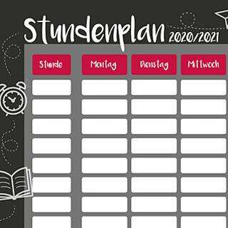 Kostenloser Stundenplan | Wensauer Com-Systeme GmbH