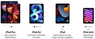 Welches iPad ist das richtige für dich?