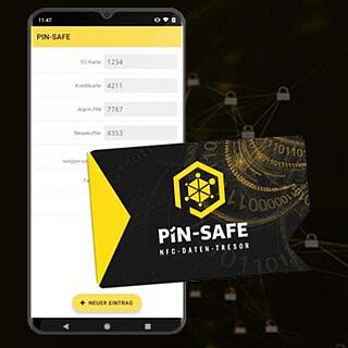 PIN SAFE Karte | Wensauer Com-Systeme